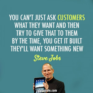 Steve Jobs on innovation! Loved this man! #creativesonclick www ...
