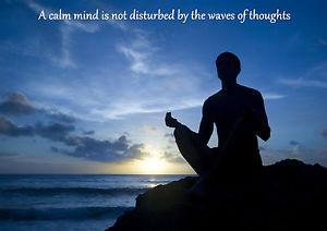 YOGA-MEDITATION-QUOTE-INSPIRATIONAL-MOTIVATIONAL-POSTER-PRINT-ART-calm ...