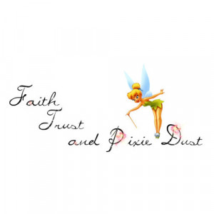 Peter Pan And Tinkerbell Quotes Tinkerbell Quotes