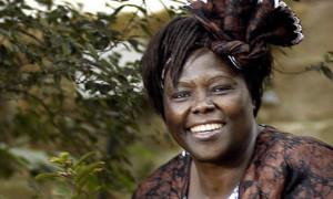"Wangari Maathai-""Mama Trees"""