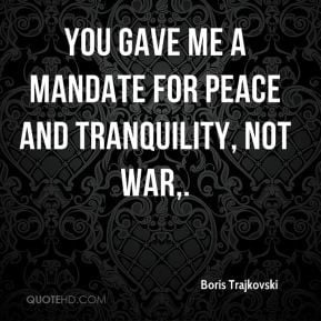 Peace and Tranquility Quotes