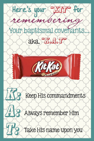 Baptismal Covenants - KITKAT