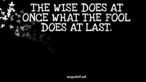 Wise Quotes About Life