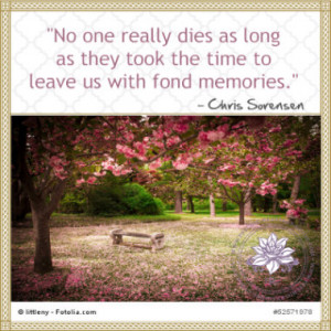 loss of a loved one quotes of comfort