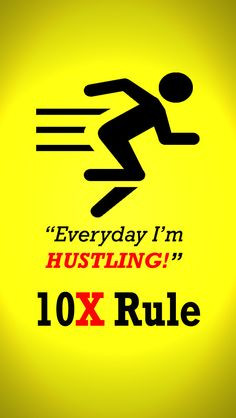 The one inspired by Grant Cardone's 10x RULE book, use it as a ...