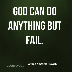 African-American Proverb Quotes