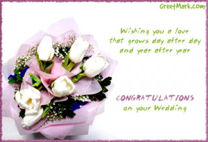 Congratulations Getting Married Quotes Bouquet congratulations on