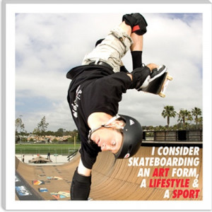 Tony Hawk Canvas art print #skateboarding