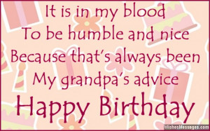 Birthday Wishes for Grandpa: Birthday Messages for Grandfather