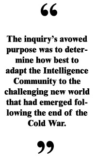 The Aspin-Brown Intelligence Inquiry: Behind the Closed Doors of a ...