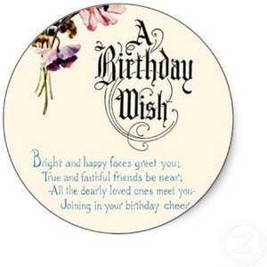 Vintage Happy Birthday Wishes