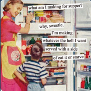What's for Dinner? Lol!