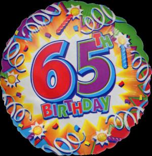 Happy 65th Birthday 02
