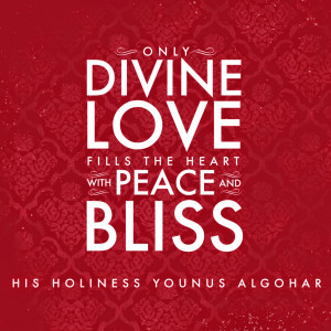 Quote of the Day: Only Divine Love...