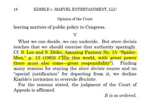 Supreme Court quotes 'Spider-Man' in toy patent case, gives win to ...
