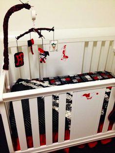 harley quinn decorations harley quinn nursery nerdy stuff future baby ...