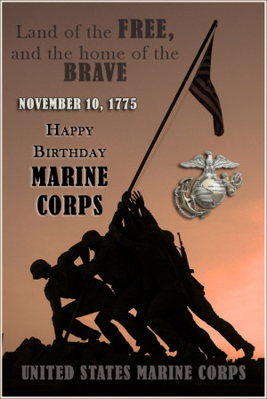 Marine Quotes Happy Birthday United States Marine Corps Uploaded To