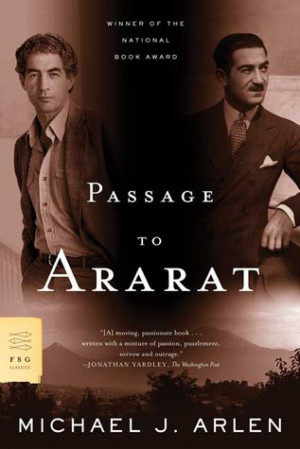 """Start by marking """"Passage to Ararat"""" as Want to Read:"""