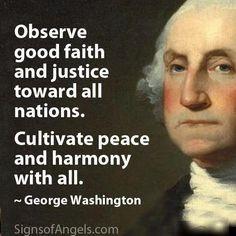 george washington quote more justice history education washington ...
