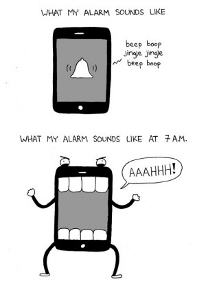 Funny photos funny cell phone alarm monster