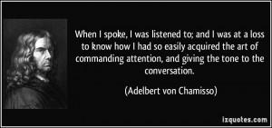 More Adelbert von Chamisso Quotes