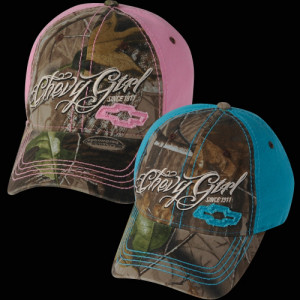 Chevy Girl Camo Hat by Realtree