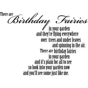 Birthday Quote - Credit: Jenn's Digital Wordart blogspot
