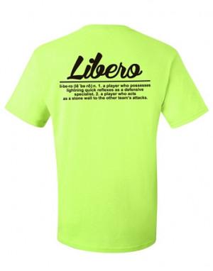 Libero Volleyball Definition 2022