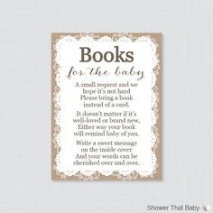 This is the best. Book instead of a card, baby shower. https://www ...