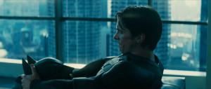 ... Wayne visto por Nolan en una de sus constantes dicotomías morales