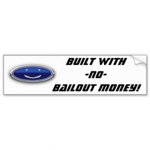 Chevy Vs Ford Funny Quotes Ford! bumper stickers