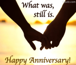 ... want to annoy for the rest of your life. Long after our anniversary