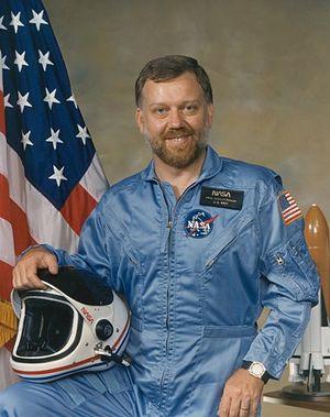 Astronaut Paul D. Scully-Power