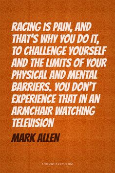 Challenges, Ironman Quotes, Ironman Triathlon Quotes, Quotes Triathlon ...