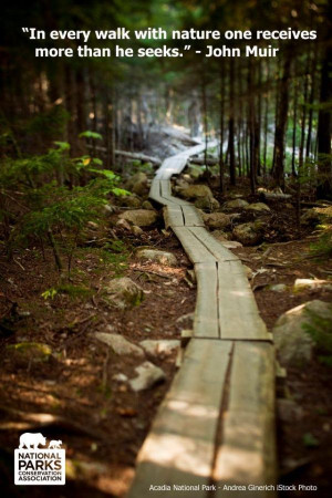 ... one receives more than he seeks. via @NatlParkService @NPCA #hiking