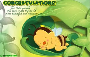... congratulations ecard to congratulate the expecting parents/ parent