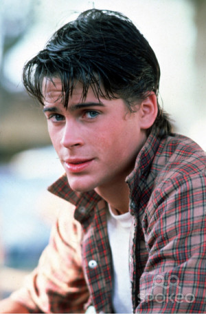 Rob Lowe (as Sodapop Curtis) The Outsiders (1983) Directed by Francis ...