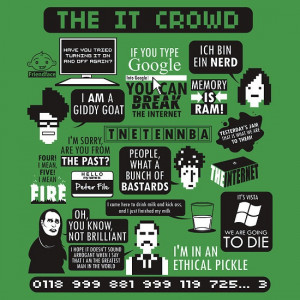 the it crowd love this show so much