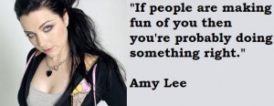 Amy lee famous quotes 5
