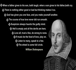 10 famous lines of shakespeare