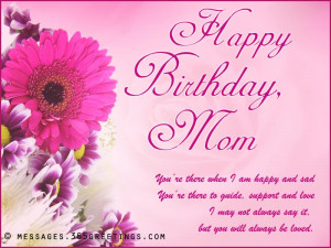Happy Birthday in Heaven Quotes Happy Birthday Mom Quotes From