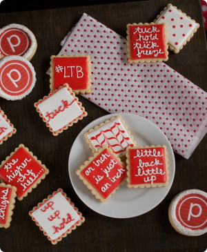 pure barre cookies #purebarre from @bakeat350