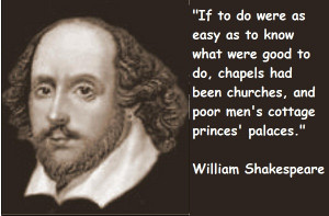 famous quotes of shakespeare