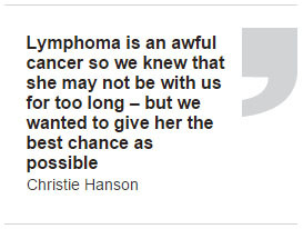 Lymphoma Cancer Survivor Quotes Despite regularly visiting her