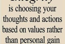 Quotes - character, integrity, virtues / by Lilia Molner