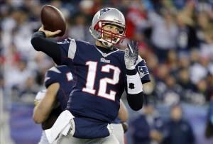 2013; Foxborough, MA, USA; New England Patriots quarterback Tom Brady ...