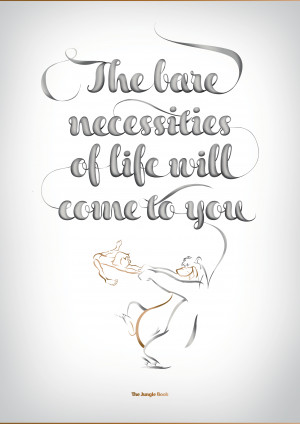 disney typography