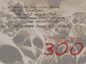 Back > Gallery For > 300 spartans quotes