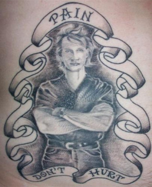 from road house tribute to patrick swayze tattoo from road house ...