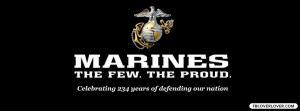 Click below to upload this Marines The Few The Proud Cover!